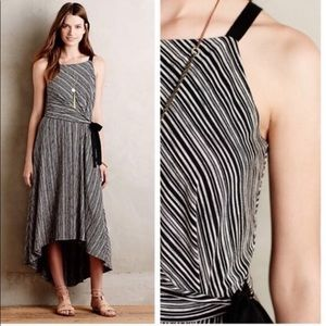 Maeve, striped maxi dress, like new, size small